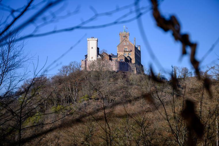 Eisenach: Von der Drachenschlucht aus kommt man über die Hohe Sonne zur Wartburg.