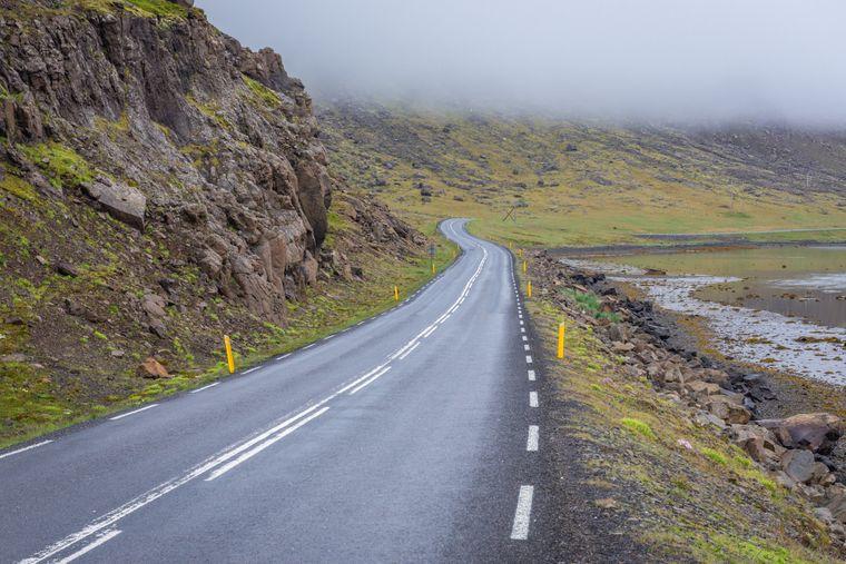 Vulkane, Geysire, Thermalquellen, Gletscher erschließen sich entlang der Route 1.