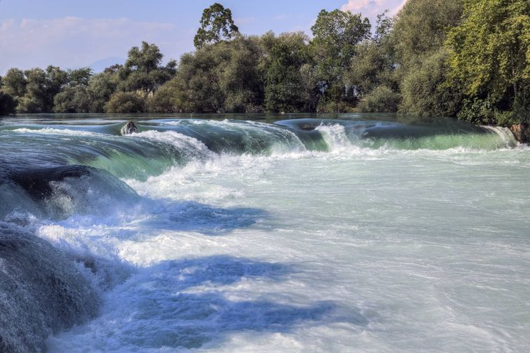 Der Manavgat-Wasserfall ist ein beliebtes Ausflugsziel.