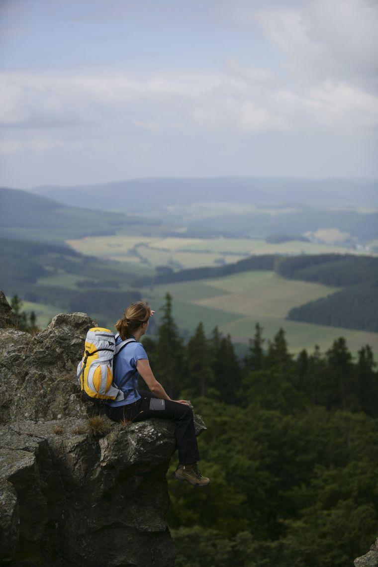 Der Rothaarsteig führt rund 21 Kilometer durch die Natur.