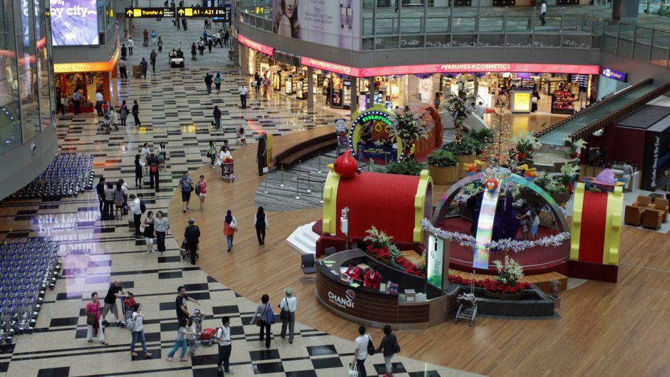 Das ist der beste Flughafen der Welt: Chengi Airport in Singapur.