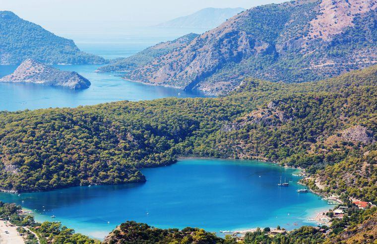Der Green Canyon gehört zu den schönsten Natur-Zielen in der Türkei.