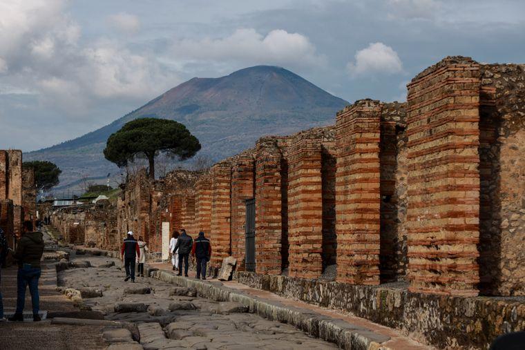 Pompeji, Italien.