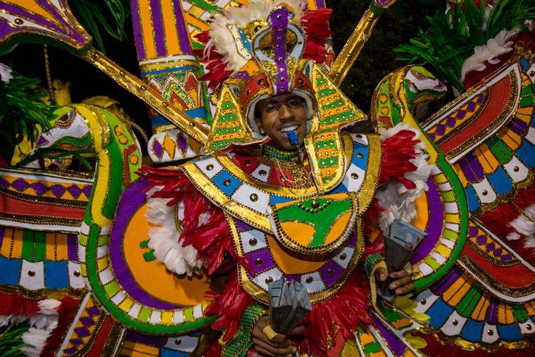 Junkanoo-Parade auf den Bahamas.