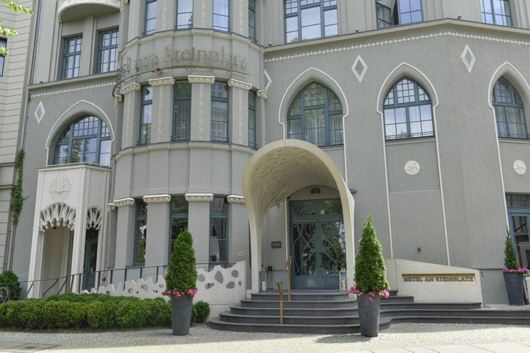 Klassisch und elegant: Das Hotel am Steinplatz ist für Berlin-Reisende mit größerem Budget geeignet.