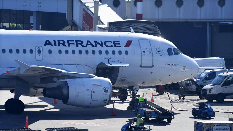 Ein Flieger der Fluggesellschaft Air France. Die Airline will kostenlose Tickets für den Wiederaufbau der Kathedrale Notre-Dame ausstellen.