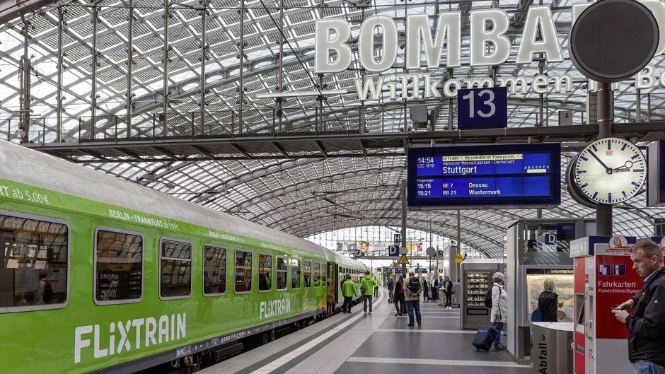 Der Flixtrain fährt aktuell mehr als 20 Ziele in Deutschland an.