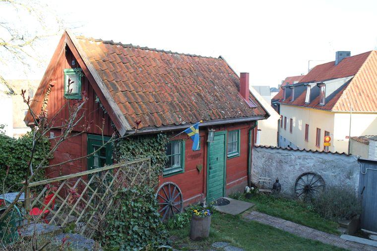 Cottage im Visby Logi & Vandrarhem Hästgatan, Gotland.