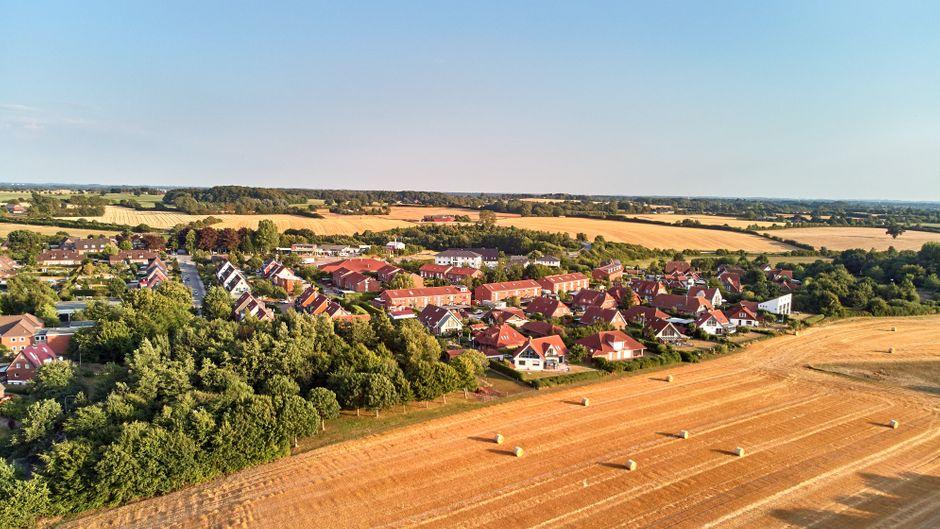 Schwedeneck ist auch von oben wunderschön.