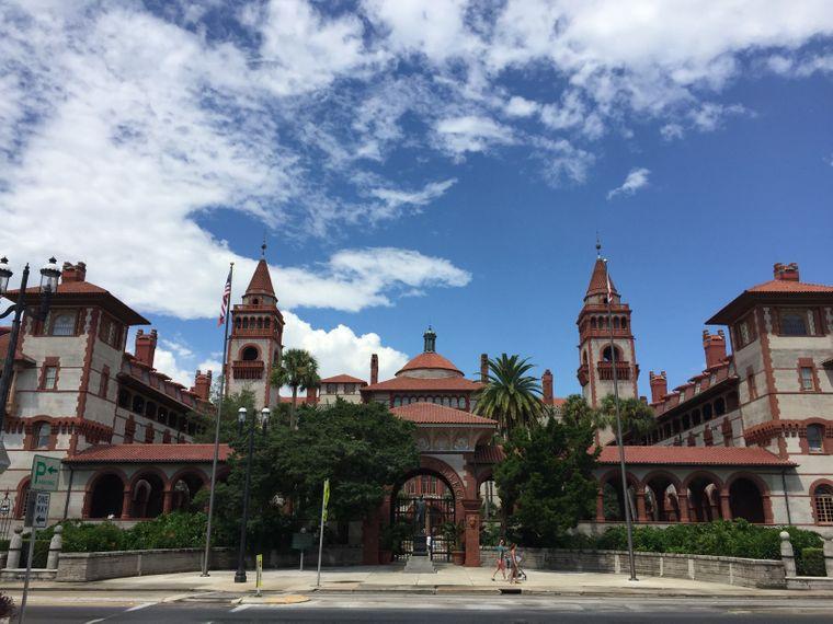 Das St. Augustine College liegt etwa eine Stunde südlich von Jacksonville.