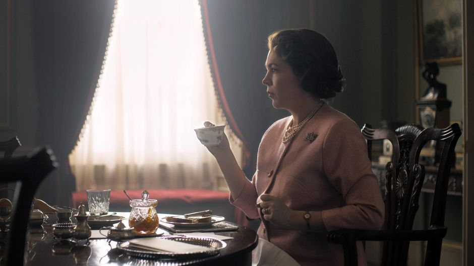 "Netflix-Serie ""The Crown""."