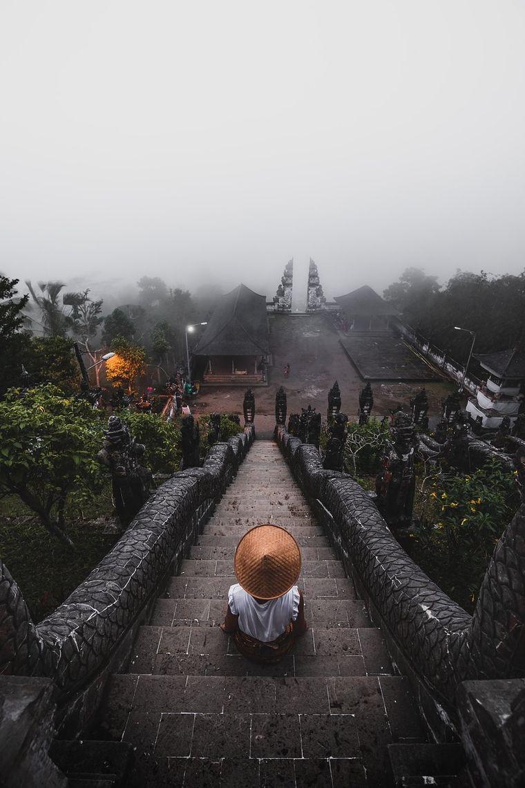 Lempuyang-Tempel, Bali, Indonesien