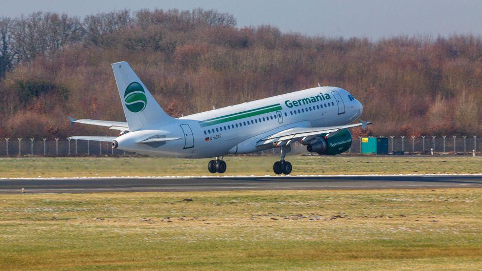 Die Flotte der deutschen Fluggesellschaft Germania wächst auf 36 Flugzeuge.
