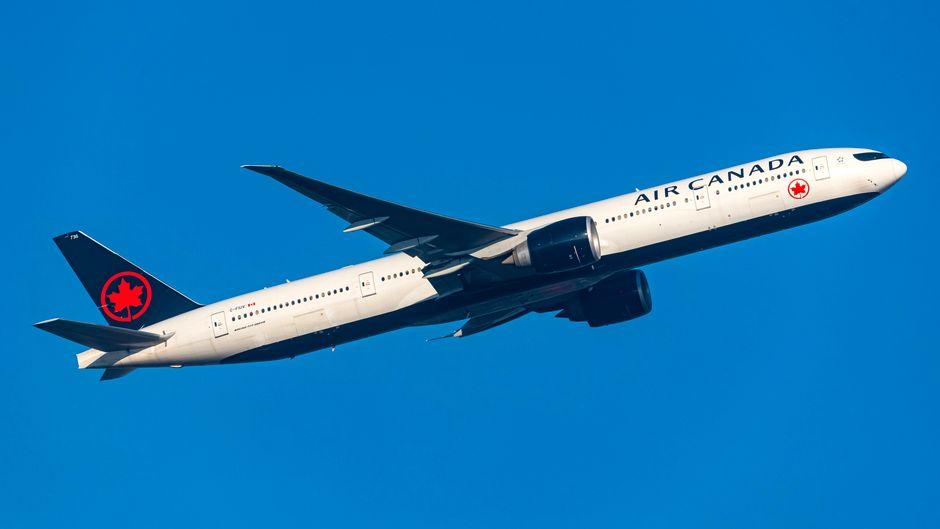Beim Start in New York verlor ein Airbus der Airline Air Canada einen Reifen.