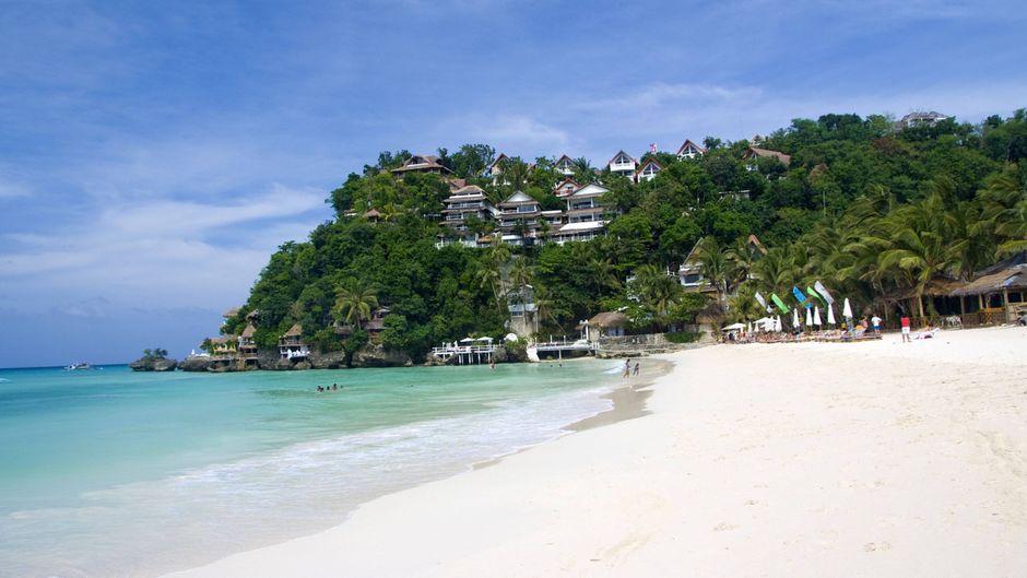 Die philippinische Insel Boracay soll wieder zu einem Urlaubsparadies werden. (Symbolfoto)