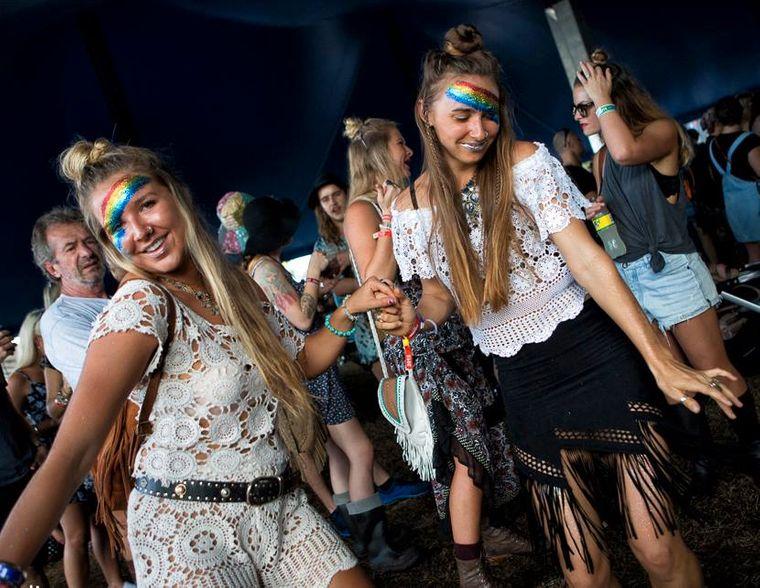 """Beim Bluesfest in Byron Bay wird """"sauber"""" gefeiert."""