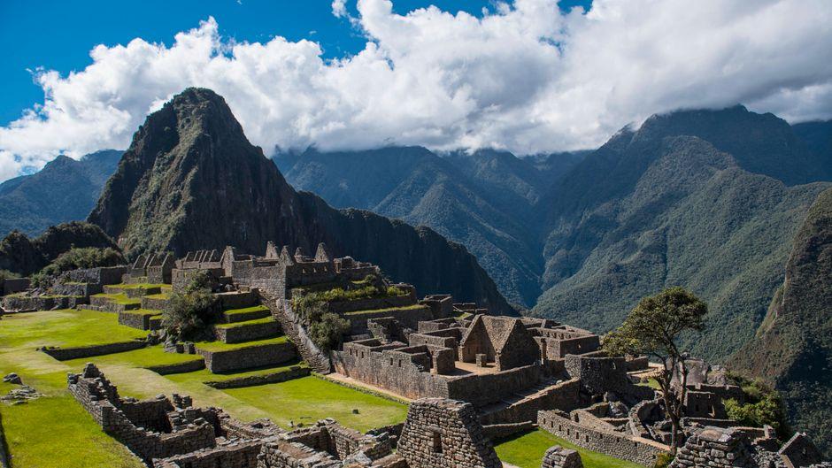 Der Machu Picchu in Peru zählt zu den sieben neuen Weltwundern.