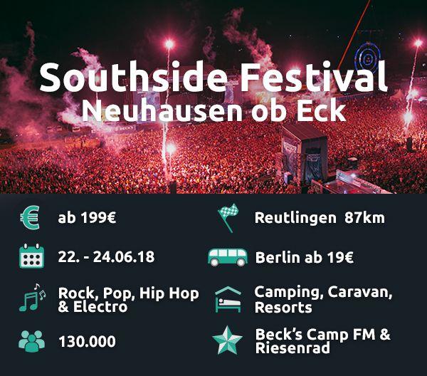 Das Southside ist das teuerste Festival im Vergleich.