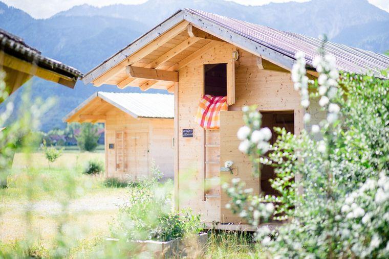 Urige Hütten und fantastische Aussichten gibt's im Almdorado.