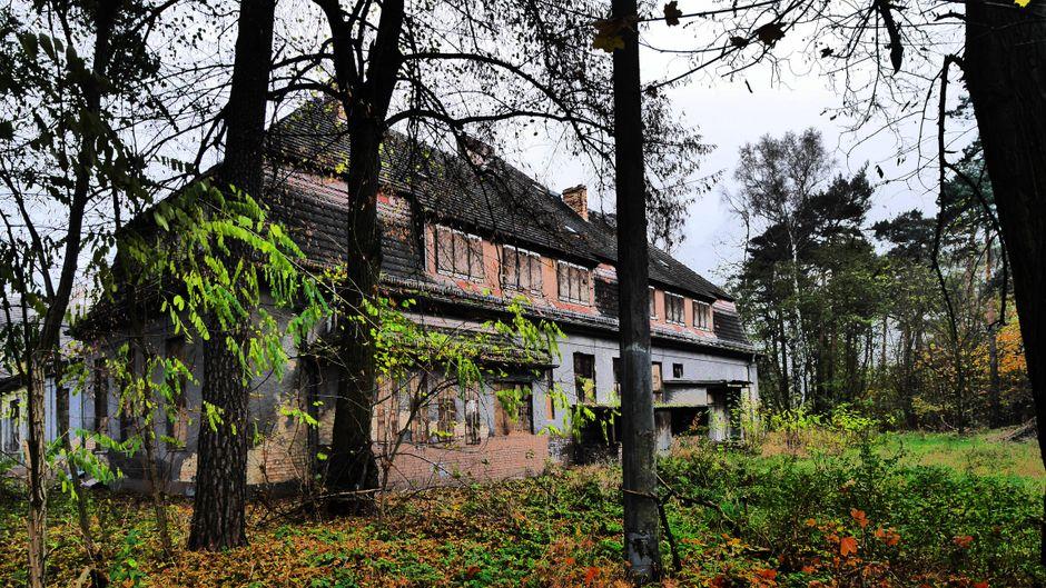 Die leer stehenden Häuser in der früheren Militärstadt Wünsdorf könnten die Kulisse einer Mystery-Serie sein.
