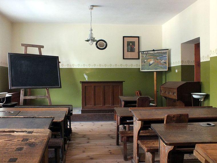 Im Leipziger Schulmuseum kann man auch Klassenräume aus dem 19. Jahrhundert besuchen.