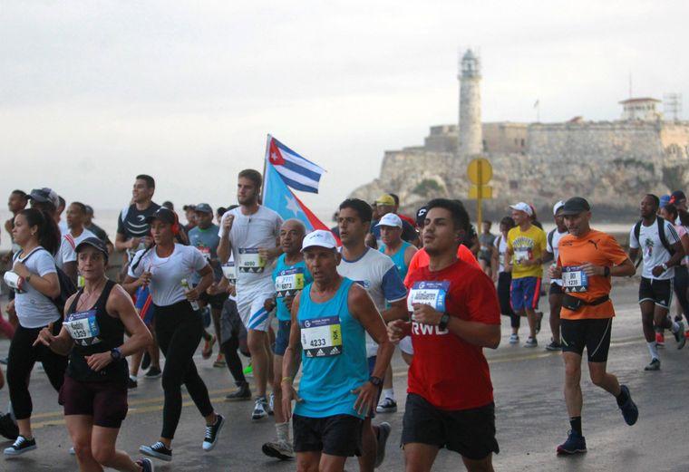 Marabana-Marathon in Havanna.