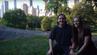 Chad und Hannah im Central Park in New York.