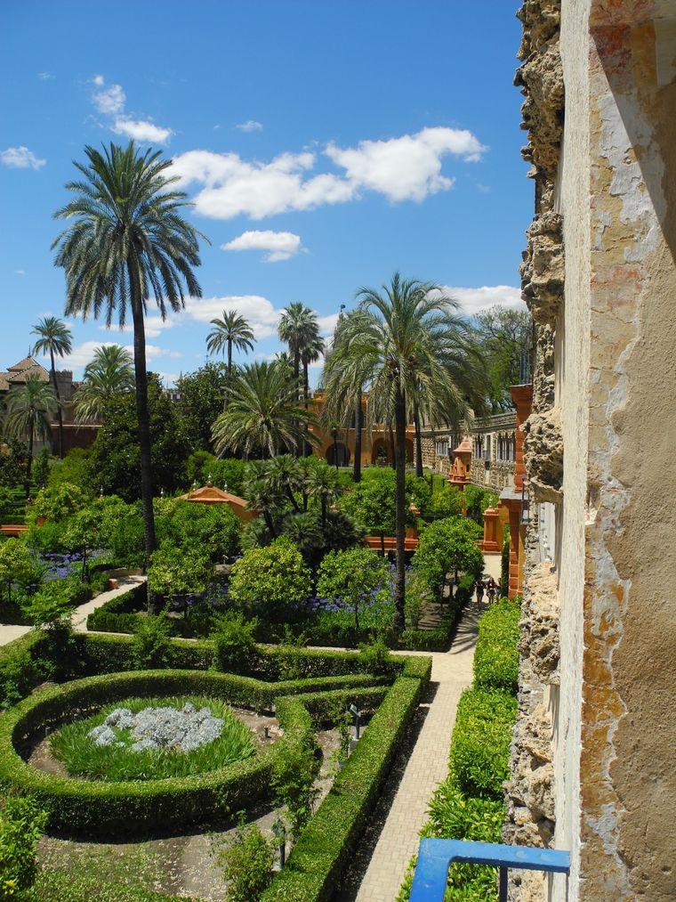 Der schönste Ort Sevillas: der königliche Alcázar-Palast.