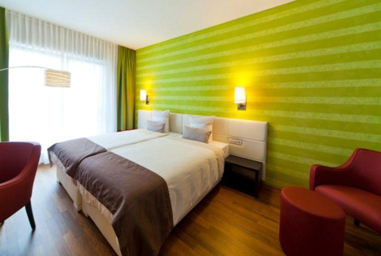 Zimmer des Kedi Hotel Papenburg.