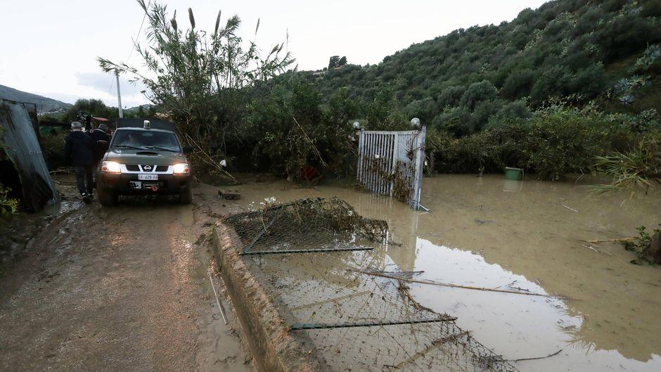 Die Überflutungen auf Sizilien forderten mehrere Menschenleben.