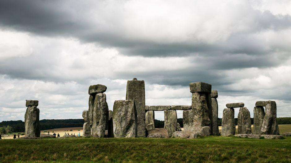 Ein Besuchermagnet aus der Steinzeit: Das Stonehenge in Wiltshire, England.