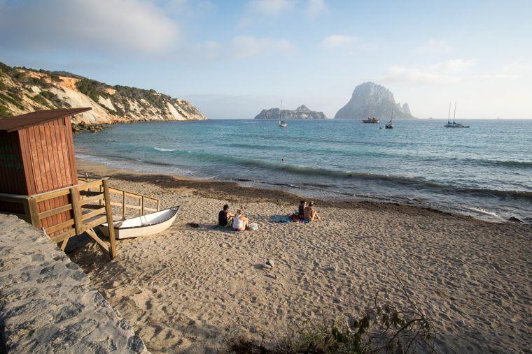 Strand Cala d'Hort, Ibiza