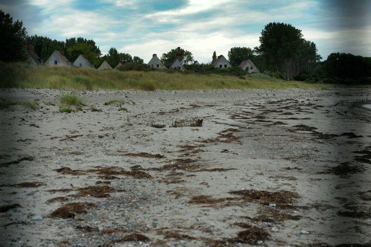 Trotz gesperrten Strandes ist das Gelände der Halbinsel Wustrow bei Rerik eine Attraktion.