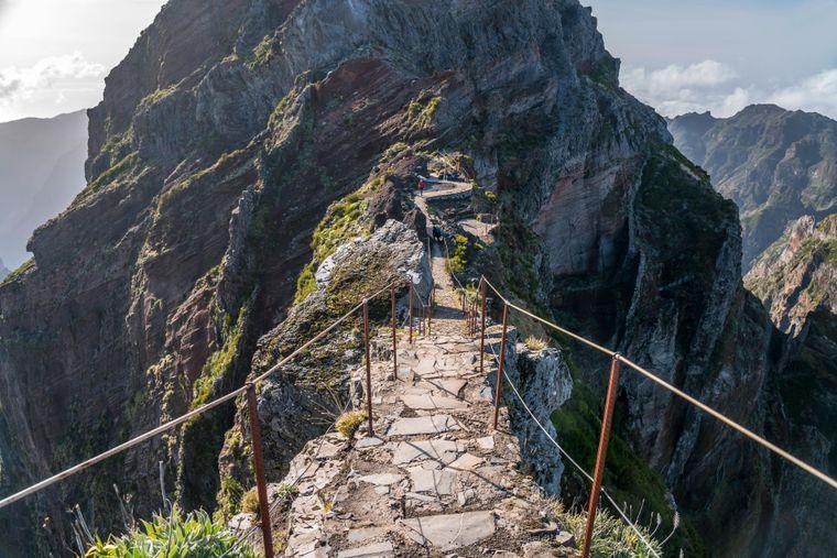 Der Berg Pico Ruivo ist der höchste Berg auf der Blumeninsel.