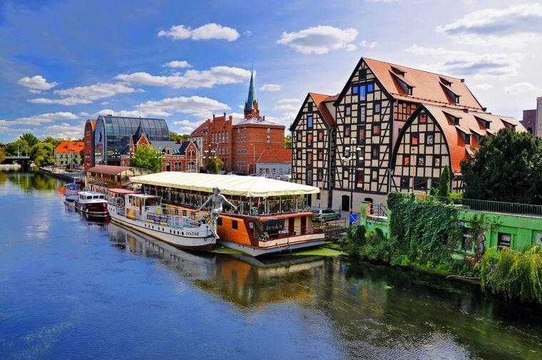 Bydgoszcz (Bromberg) an der Weichsel.