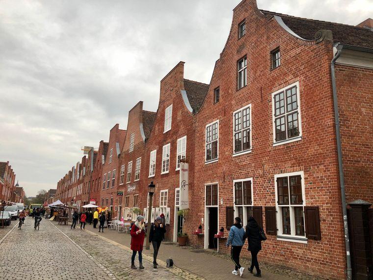 Das Holländerviertel in Potsdam ist ein Touristenmagnet.