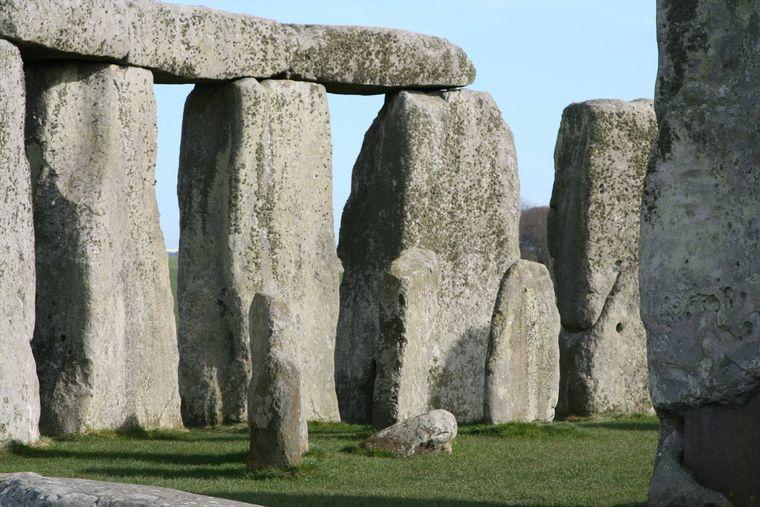 Stonehenge in England.