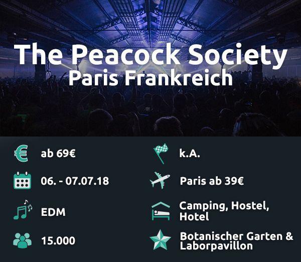 The Peacock Society.