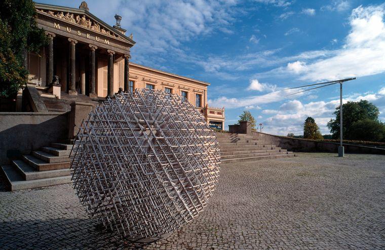 Kunst und Kultur im gesamten Stadtbild: Schwerin.