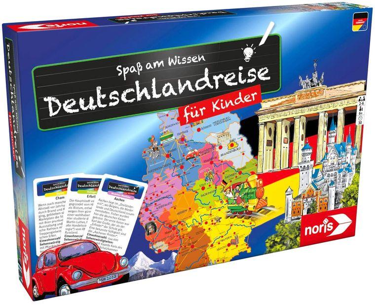 Wer schafft es zuerst zu allen Stationen in Deutschland?