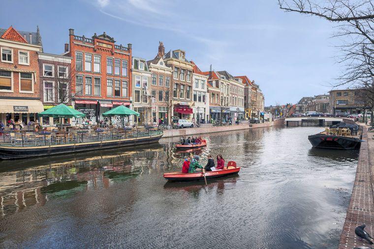 In Leiden geht alles noch etwas beschaulicher zu als in Amsterdam.