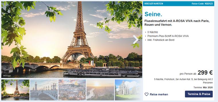 Paris, Rouen und Vernon