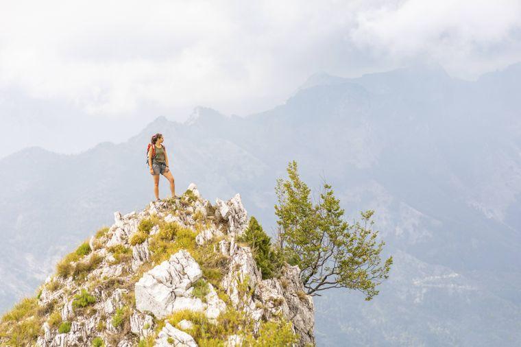 In der Toskana gibt es viele Möglichkeiten für Wanderungen.