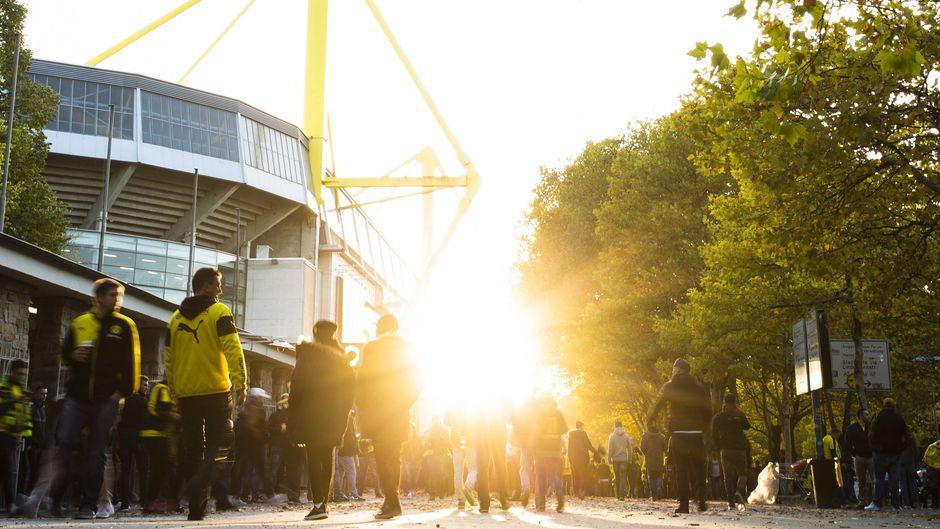 Der Signal-Iduna-Park in Dortmund.