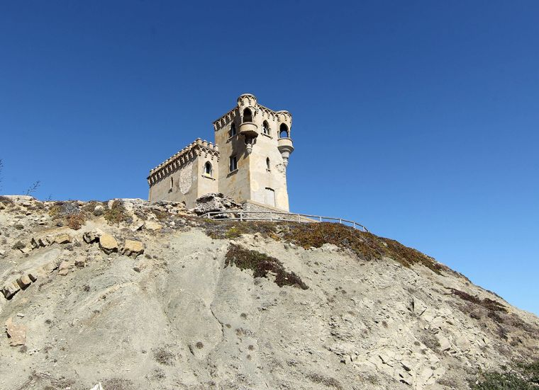 Castillo de Santa Catalins – die imposante Ruine der Burg Tarifa.