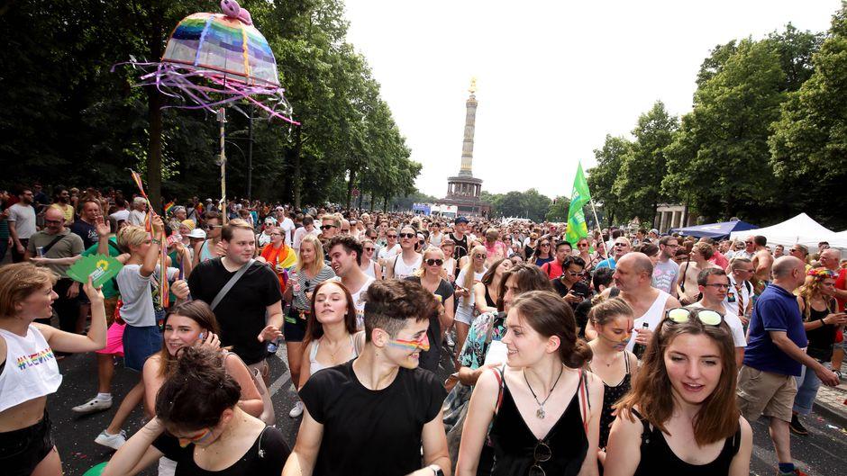 Der CSD in Berlin: Ein Sinnbild der Toleranz und Offenheit.