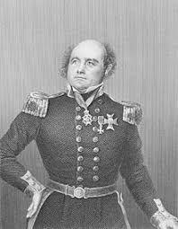 Polarforscher Sir John Franklin.