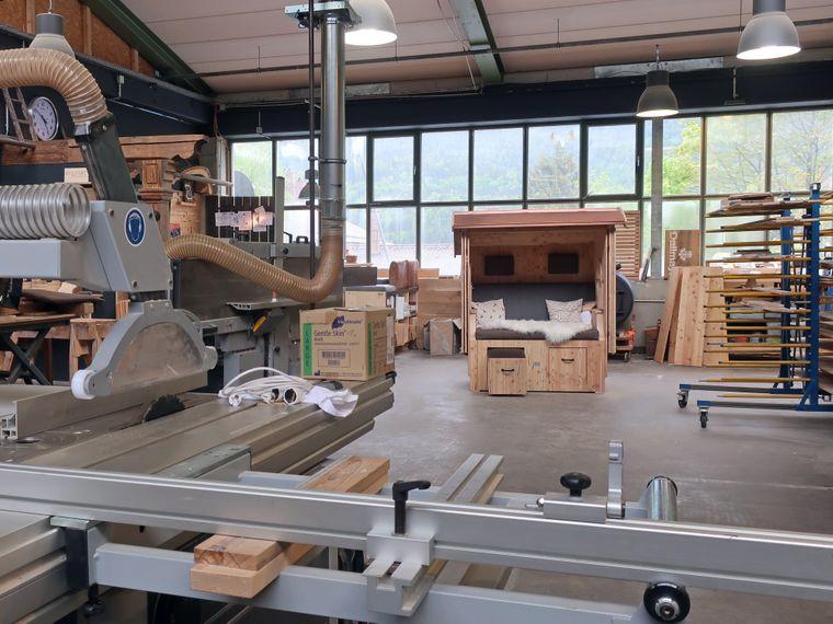 Ein Blick in die Werkstatt von Jörg Hibler.