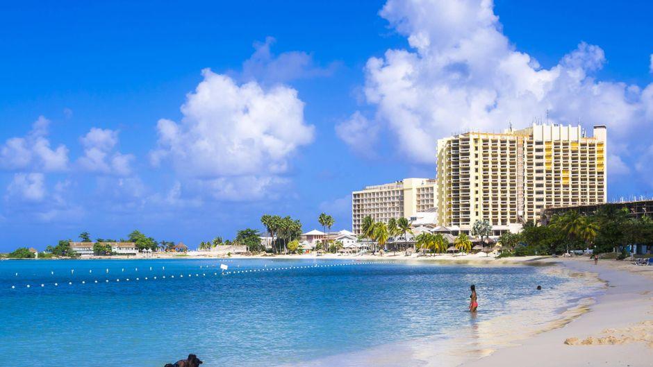 Der Turtle Beach auf Jamaika.