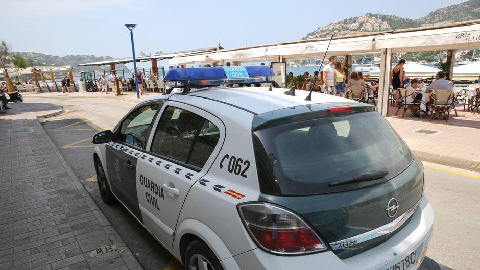 Guardia Civil auf Mallorca.